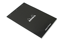 "Rhodia DotPad Notepad No. 19 - A4+ (8.75"" x 12.5"") - 5 mm Dot Grid - Black - RHODIA 19559"