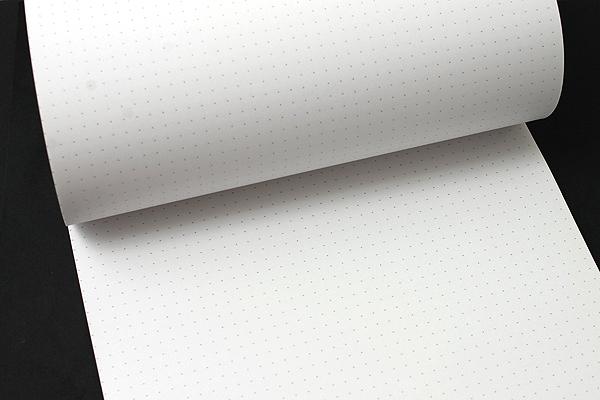 "Rhodia DotPad Notepad No. 19 - A4+ (8.75"" x 12.5"") - 5 mm Dot Grid - Black - RHODIA 19559"