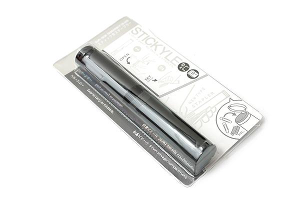 Sun-Star Stickyle Pen-Style Stapler - Black - SUN-STAR S4763211