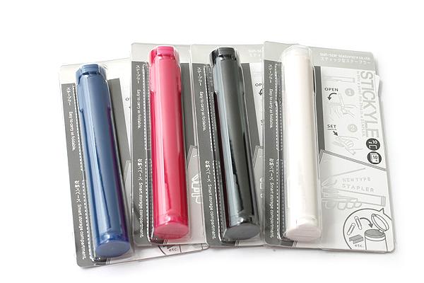 Sun-Star Stickyle Pen-Style Stapler - Shocking Pink - SUN-STAR S4763246