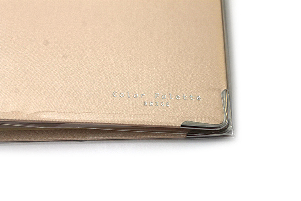 Kokuyo Color Palette Binder - A5 - 20 Rings - Beige - KOKUYO RU-105-10Z