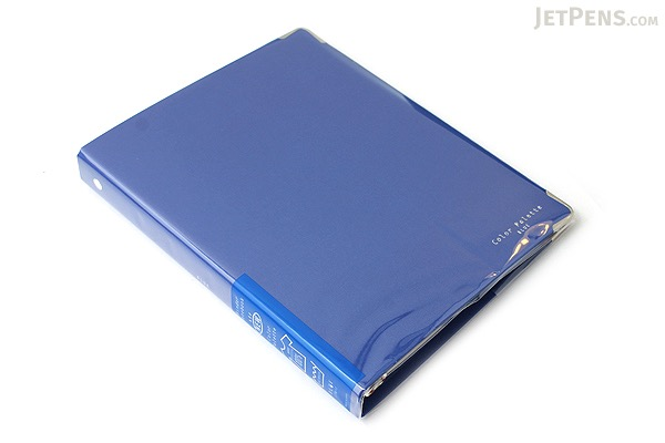 Kokuyo Color Palette Binder - A5 - 20 Rings - Blue - KOKUYO RU-105-3Z