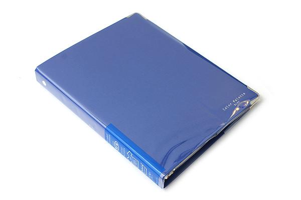 Kokuyo Color Palette Binder - A5 - 20 Rings - Blue - KOKUYO RU-105-3Z