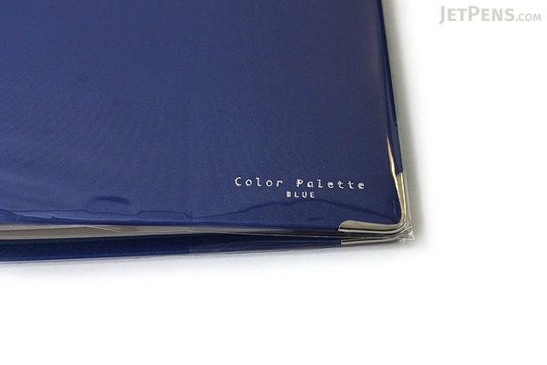 Kokuyo Color Palette Binder - A5 - 20 Rings - Blue - Bundle of 5 - KOKUYO RU-105-3Z BUNDLE
