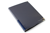 Kokuyo Color Palette Binder - A5 - 20 Rings - Navy - KOKUYO RU-105-2Z