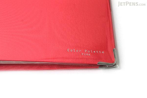 Kokuyo Color Palette Binder - A5 - 20 Rings - Pink - KOKUYO RU-105-7Z
