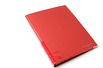Kokuyo Color Palette Binder - A5 - 20 Rings - Red - KOKUYO RU-105-8Z