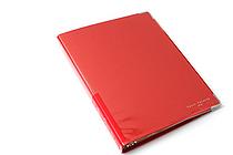 Kokuyo Color Palette Binder - A5 - 20 Rings - Red - KOKUYO RU-105-8Z
