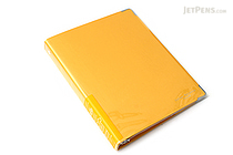 Kokuyo Color Palette Binder - A5 - 20 Rings - Yellow - KOKUYO RU-105-4Z