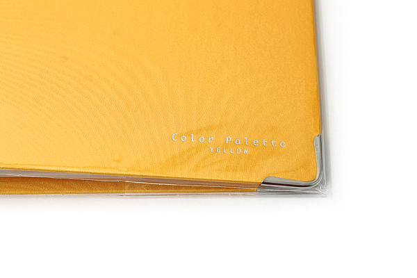 Kokuyo Color Palette Binder - A5 - 20 Rings - Yellow - KOKUYO RU-105-4Z