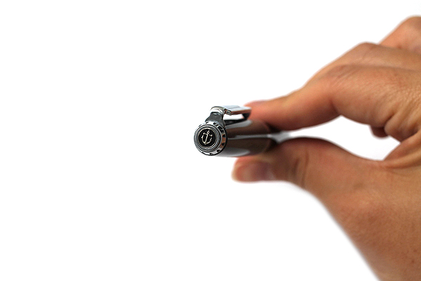 Sailor Reglus Ballpoint Pen - 0.7 mm - Gray Body - Black Ink - SAILOR 16-0350-221