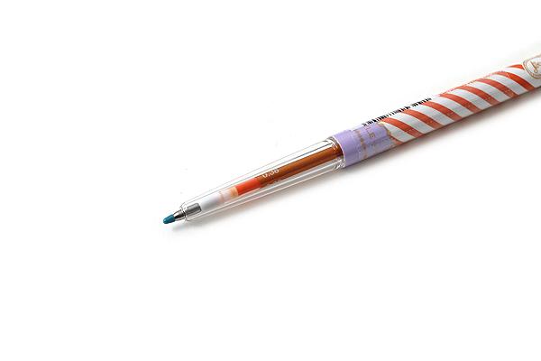 Uni Style Fit Single Color Slim Gel Ink Pen - Majolica Majorca Limited Edition - 0.38 mm - Orange - UNI UMN159MJ38.SO