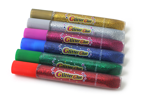 Yamato Glitter Glue - 6 Color Set - Classic - YAMATO GGC10H