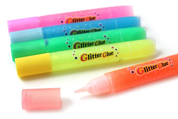 Yamato Glitter Glue - 6 Color Set - Neon - YAMATO GGN10H
