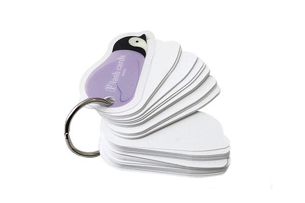 Midori Flash Cards - Mini - Penguin - MIDORI 231149