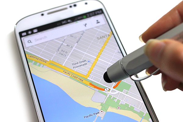 Kaweco AL Sport Touch Ballpoint Pen + Stylus - 1.0 mm - Silver Body - KAWECO 10000478