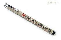 Sakura Pigma Graphic Pen - 1.0 mm - Black Ink - SAKURA XSDK1-49