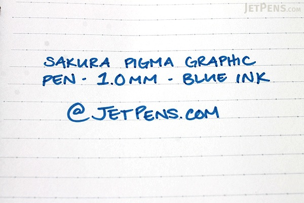 Sakura Pigma Graphic Pen - 1.0 mm - Blue Ink - SAKURA XSDK1-36