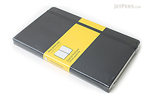 "Moleskine Classic Notebook - Black - 5"" x 8.25"" - 5 mm Graph - MOLESKINE 978-88-8370-113-9"