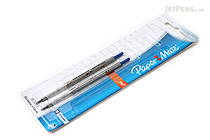 Paper Mate PhD Retractable Ballpoint Pen Refill - 1.0 mm - Blue Ink - Pack of 2 - PAPER MATE 4912431PP