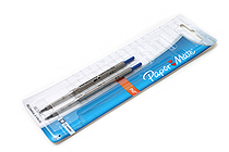 Paper Mate PhD Retractable Ballpoint Pen Refill - 1.0 mm - Blue Ink - Pack of 2 - SANFORD 4912431PP