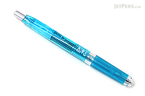 Pilot Delful Double Knock Mechanical Pencil - 0.5 mm - Clear Blue Body - PILOT HDF-50R-TL