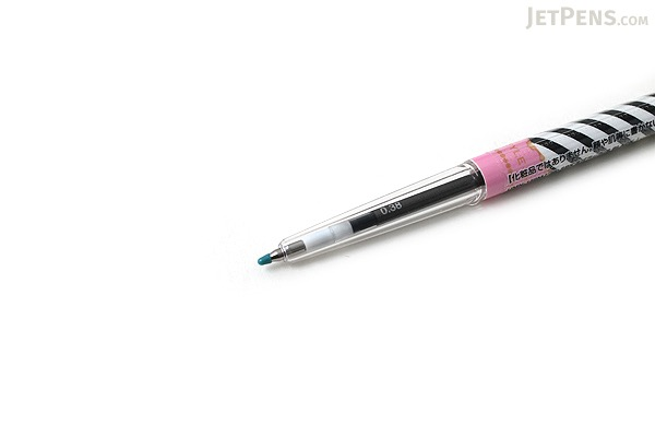 Uni Style Fit Single Color Slim Gel Ink Pen - Majolica Majorca Limited Edition - 0.38 mm - Black - UNI UMN159MJ38SBK