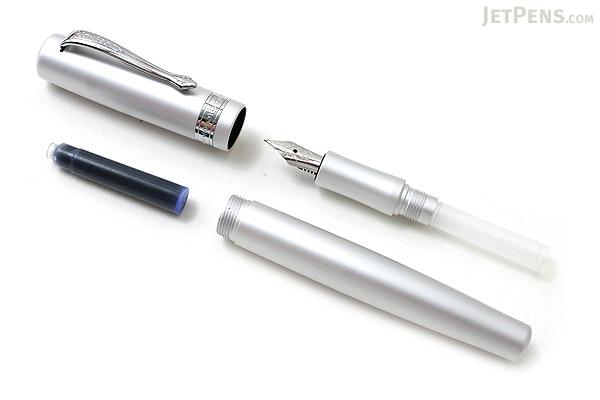 Kaweco Allrounder Fountain Pen - Silver - Fine Nib - KAWECO 10000514