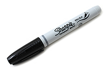 Sharpie Brush Tip Permanent Marker - Black - SHARPIE 1810705