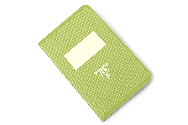 "Clairefontaine Collection 1951 Pocket Notebook - Limited Edition - 3.5"" X 5.5"" - Lined - 48 Sheets - Green Cover - CLAIREFONTAINE 195596"