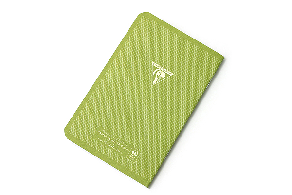 """Clairefontaine Collection 1951 Pocket Notebook - Limited Edition - 3.5"""" X 5.5"""" - Lined - 48 Sheets - Green Cover - CLAIREFONTAINE 195596"""