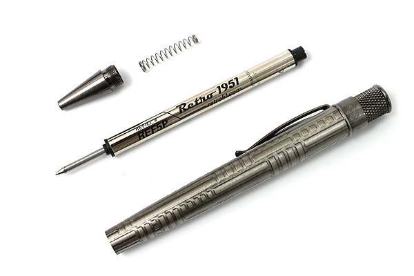 Retro 51 Tornado Vintage Metalsmith Roller Ball Pen - 0.7 mm - Jefferson - RETRO 51 VRR-1330