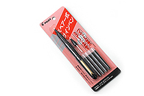 Pilot Sign Pen + Spare Nib + 4 Ink Cartridges - Black - PILOT SK-100R-B