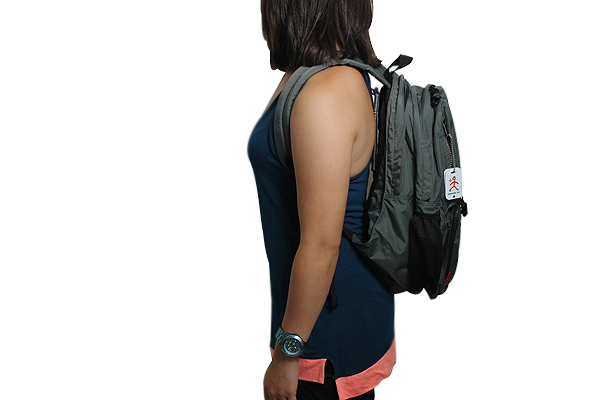 Nomadic WL-25 Wise-Walker Multi Compartment Day Backpack - Gray - NOMADIC WL-25 GRAY