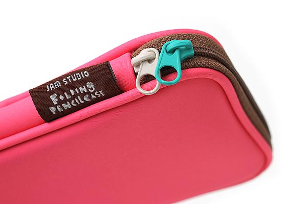 Jam Studio Pop-up Folding Pencil Case - Pink - JAM STUDIO PC P