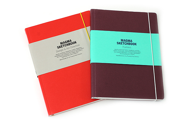 "Laurence King Magma Sketchbook - Design & Art Direction - 9.5"" X 7 "" - 152 Pages - LAURENCE KING 9781856699044"