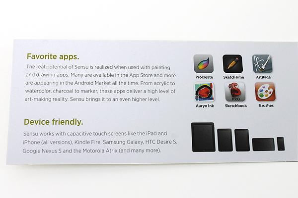 Sensu Artist Brush & Stylus for iPad and Touch Screen Devices - Chrome - SENSU SENSU1