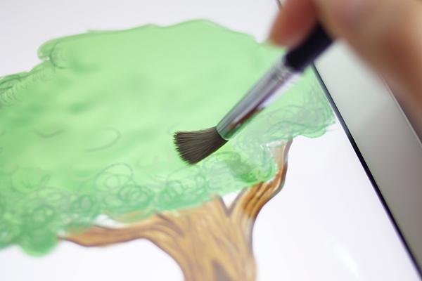 Sensu Artist Brush & Stylus for iPad and Touch Screen Devices - Matte Black - SENSU SENSU1B