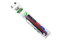 Pilot FriXion Ball Gel Multi Pen Refill - 0.5 mm - 3 Color Set - PILOT LFBTRF30EF3C