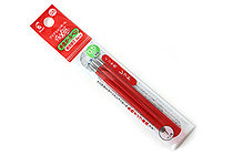 Pilot FriXion Ball Gel Multi Pen Refill - 0.5 mm - Red - Pack of 3 - PILOT LFBTRF30EF3R
