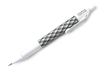 Zebra Fullst Mechanical Pencil - 0.5 mm - Plaid White - ZEBRA MA72-CHW