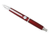 Pilot Capless Decimo Fountain Pen - 18K Gold Fine Nib - Red Body - PILOT FCT-15SR-R-F