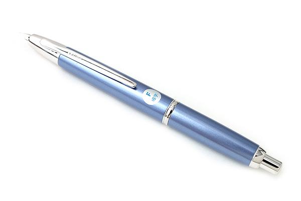 Pilot Capless Decimo Fountain Pen - 18K Gold Fine Nib - Light Blue Body - PILOT FCT-15SR-LB-F