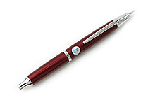 Pilot Capless Decimo Fountain Pen - 18K Gold Medium Nib - Red Body - PILOT FCT-15SR-R-M
