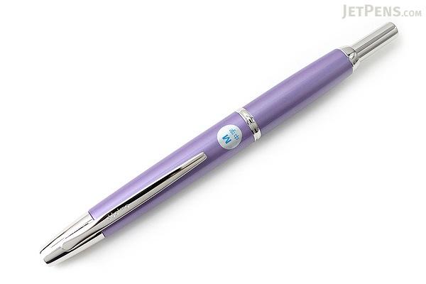 Pilot Vanishing Point Decimo Fountain Pen - Purple - 18K Gold Medium Nib - PILOT FCT-15SR-V-M