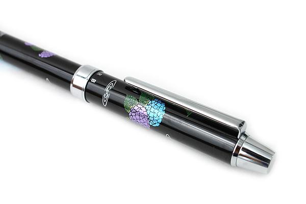 Pilot 2+1 Miyabi Emaki 2 Color 0.7 mm Ballpoint Multi Pen + 0.5 mm Pencil - Hydrangea - PILOT BTHM-3SR-AJ