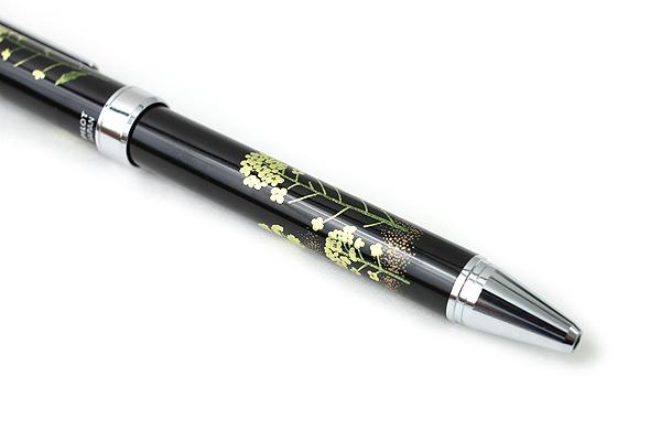 Pilot 2+1 Miyabi Emaki 2 Color 0.7 mm Ballpoint Multi Pen + 0.5 mm Pencil - Canola Flower - PILOT BTHM-3SR-NA