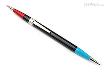 Autopoint Twinpoint Mechanical Pencil - 0.9 mm - Black Body - Blue & Red Lead - AUTOPOINT 201-1