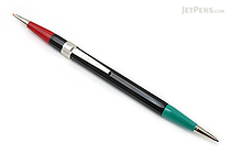 Autopoint Twinpoint Mechanical Pencil - 0.9 mm - Black Body - Green & Red Lead - AUTOPOINT 202-1