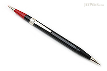 Autopoint Twinpoint Mechanical Pencil - 0.7 mm Black Lead + 0.9 mm Red Lead - Black Body - AUTOPOINT 270-1